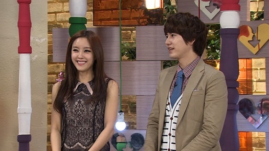 """Super Junior Kyuhyun and T-ara Hyomin Join MBC Studio Panel for """"We Got Married"""" China Special Airing"""