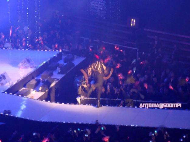 MBLAQ Lee Joon Takes a Big Fall at DAUM MTV