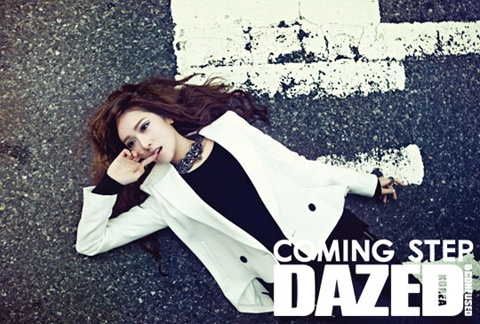 """DAZED & CONFUSED"" Releases More Photos of Girls' Generation Jessica in New York"
