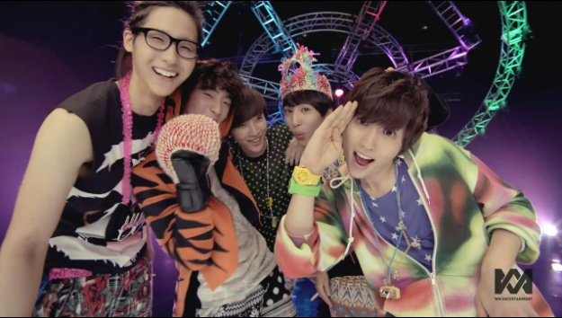 """B1A4 Releases MV For """"Beautiful Target"""""""