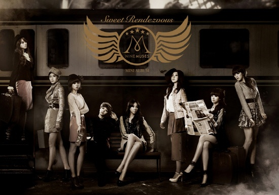 """Nine Muses Reveal Jacket Image for """"Sweet Rendezvous"""""""