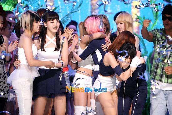 Mnet M! Countdown 07.22.10 Performances