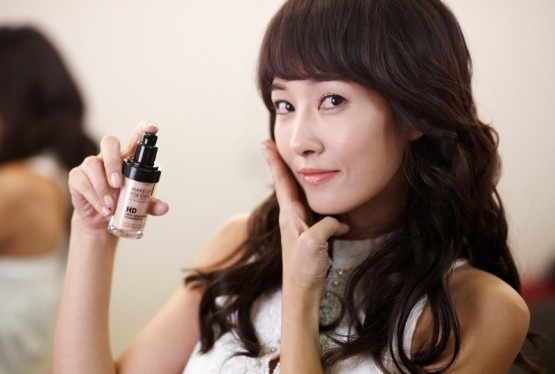 Kim Sun Ah's Promotional Pictures for Makeup Forever