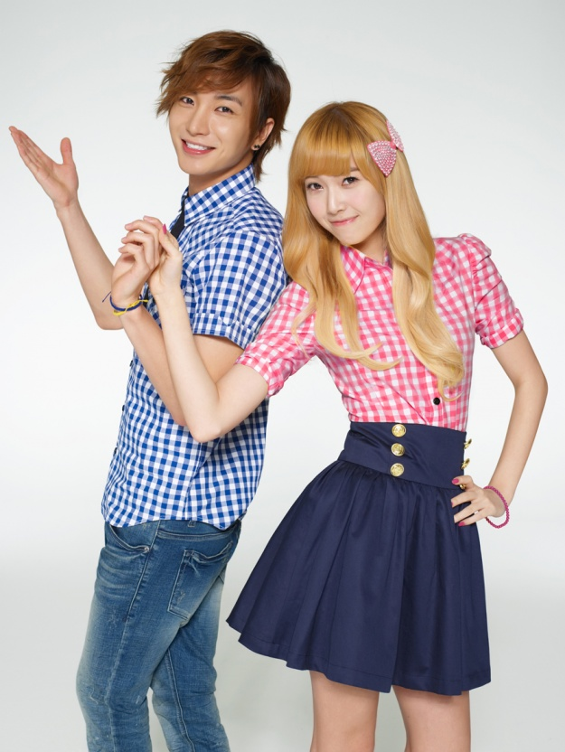 Official SPAO Photos (Super Junior & Girls' Generation)