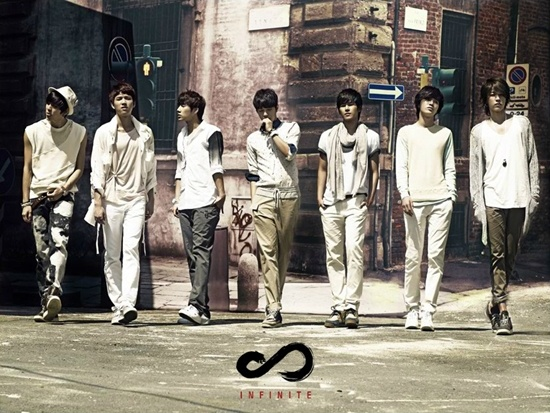"Infinite's Official Website Provides Previews for New Album ""INFINITIZE"""