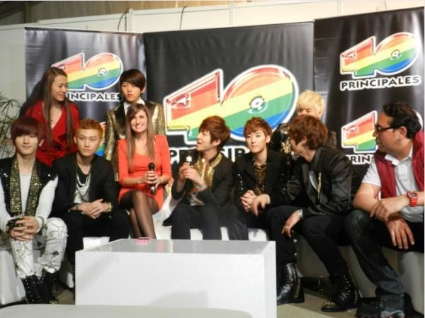 U-KISS Successfully Finishes Performance in Colombia