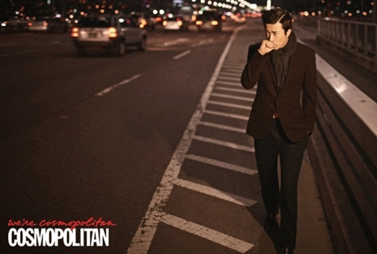 Kwon Sang Woo Looks Sophisticated in Cosmopolitan