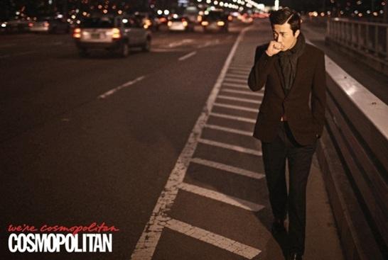 Kwon Sang Woo Looks Sophisticated in Cosmopolitan