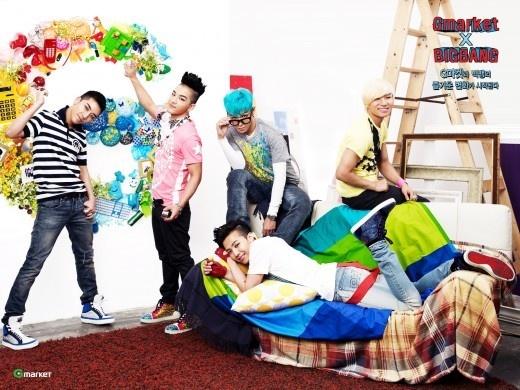 """Big Bang and G-Market Collaborates for """"G-Market X Big Bang"""" Project"""