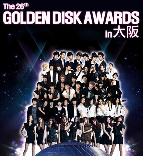 Winners Announced for 26th Golden Disk Awards (1st Day)