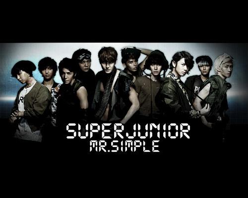 """Teaser for Super Junior """"Mr. Simple"""" Japanese Version"""