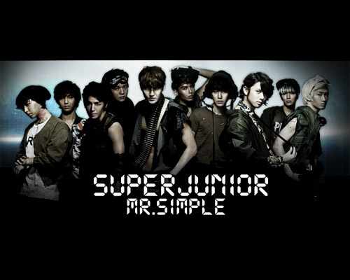 "Teaser for Super Junior ""Mr. Simple"" Japanese Version"