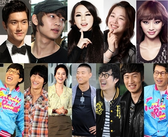 """Idol Star Lineup for """"Running Man"""" Revealed"""