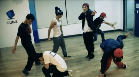 "BEAST Shows Off Their Dance Practice For ""Soom"""