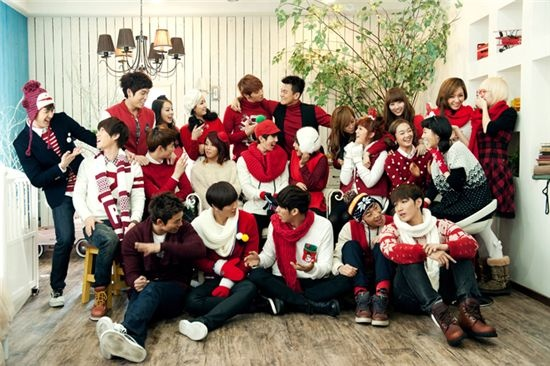 """JYP Nation Releases """"This Christmas"""" MV"""