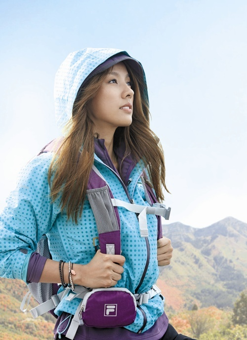 FILA Sports F/W 2010 Collection (Lee Hyori)