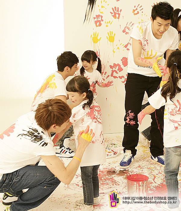 """Body Shop Campaign """"Soft Hands Kind Heart"""" (2PM)"""