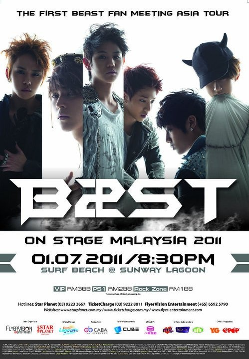 BEAST 1st Fan Meeting Asia Tour in Malaysia