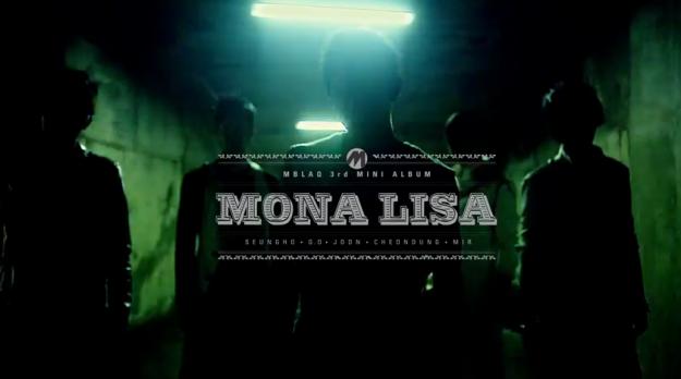 """MBLAQ Reveal Teaser for """"Mona Lisa"""""""