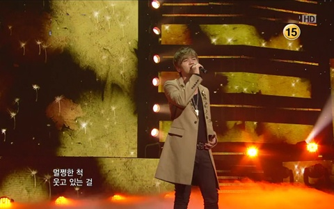 K.Will Makes Comeback Performance on Music Core