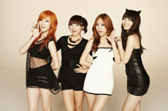 miss A Wins Rookie Award at the CETV Awards in China