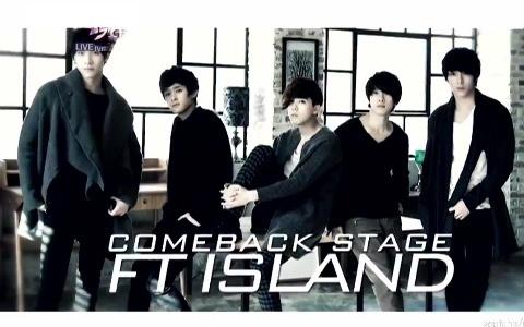 FT Island Has Comeback Performances on Music Core