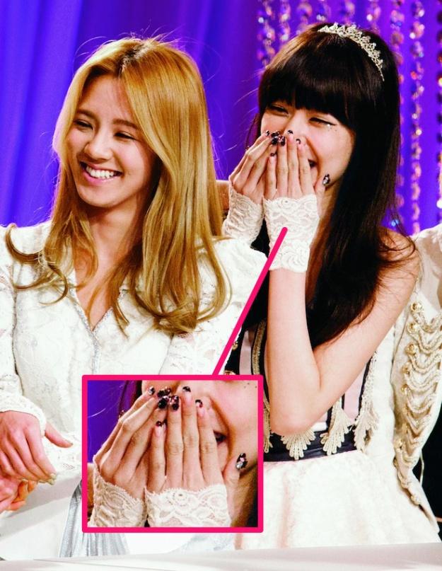 [Ceci] Beauty Scoop: Celebrity Nail Art (Tutorials for Tiffany's & Goo Hara's Nails)
