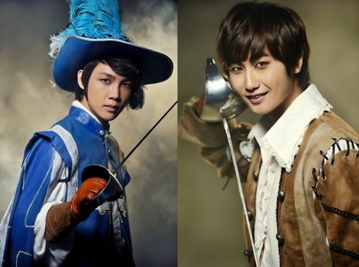 """SS501's Heo Young Saeng and Oh Won Bin Will Star in the """"Three Musketeers"""" Musical"""