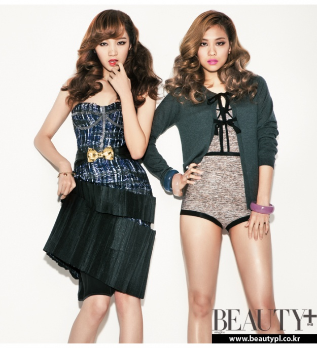 Miss A's Fei and Jia Transform into Pin-Ups for Photoshoot