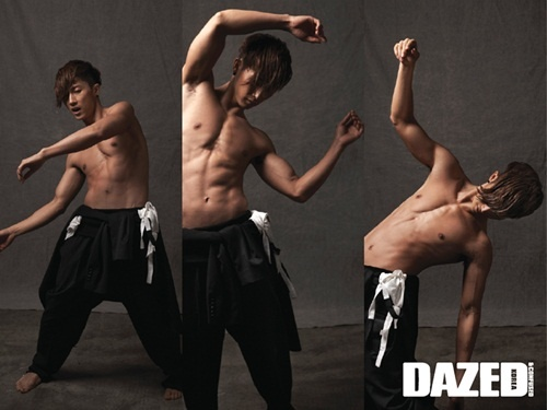 Jang Woo Hyuk Shows Off Physique For Dazed & Confused