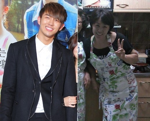 Picture of 2AM's Seulong's Mother Revealed