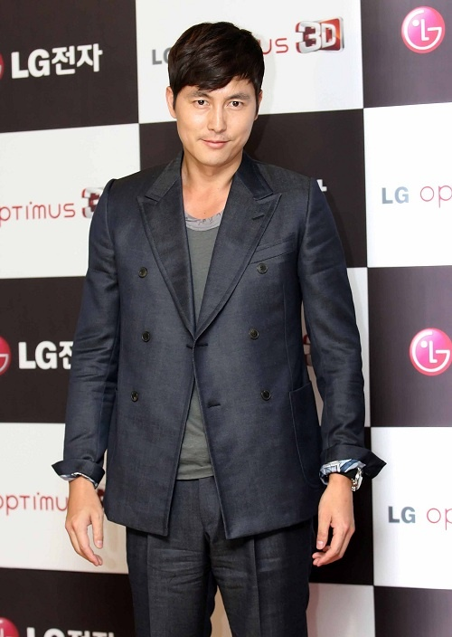Jung Woo Sung Makes First Public Appearance Since Break Up with Lee Ji Ah