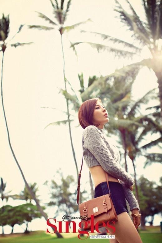 "Kim Ha Neul Goes Sexy for ""Singles"" Magazine Shoot"