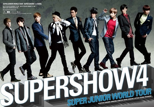 Super Junior to Open Exclusive Concert in France Tickets Open on March 9