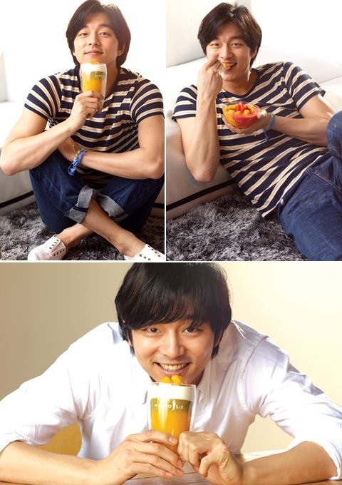"Gong Yoo Shows Off His Tender Charms for ""Mango Six"""