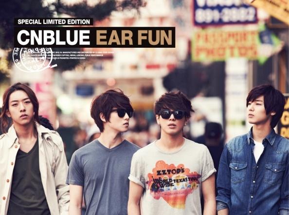 "CN Blue's ""Ear Fun"" Sells 130,000 Copies!"