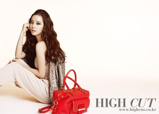 Moon Chae Won Looks Lovely for High Cut