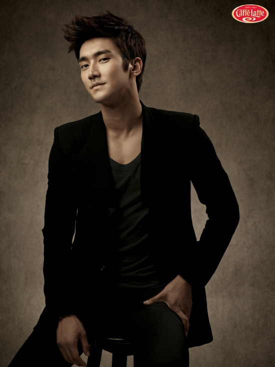 Super Junior's Siwon Chosen as the Model for a Coffee Brand