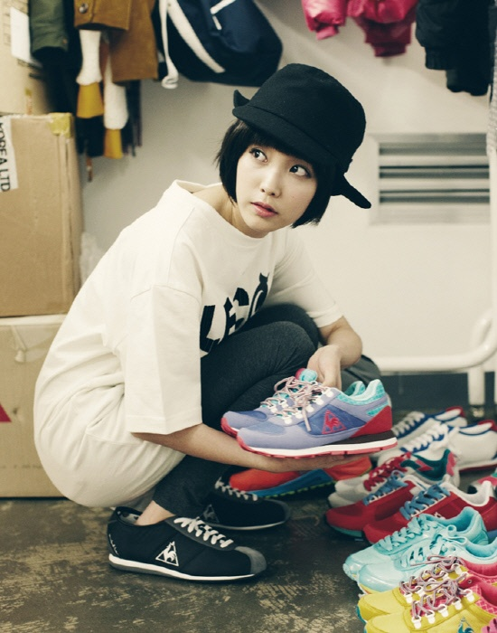 """New Photo Shoot Revealed of IU for Brand """"Le Coq Sportif"""""""