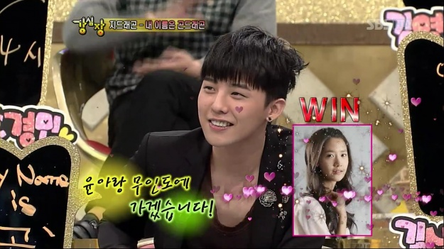 G-Dragon Would Take Yoona to a Deserted Island