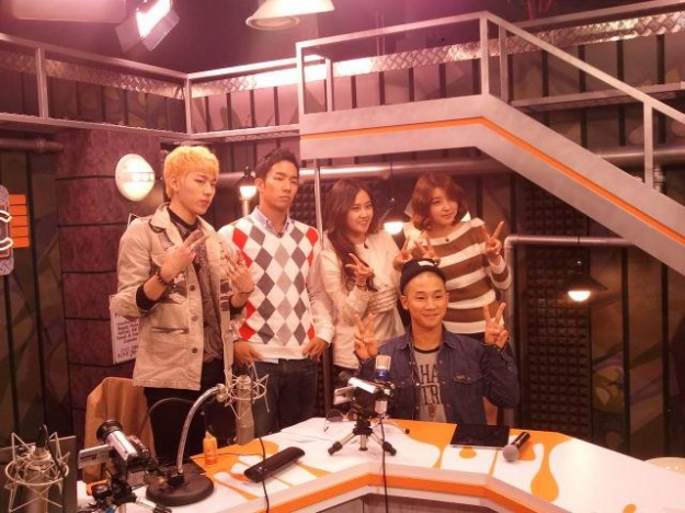 "Block B's Zico & Mighty Mouth Host Hallyu TV Special, ""Studio C"""