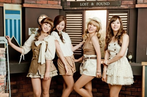 Weekly K-Pop Music Chart 2011 – June Week 4