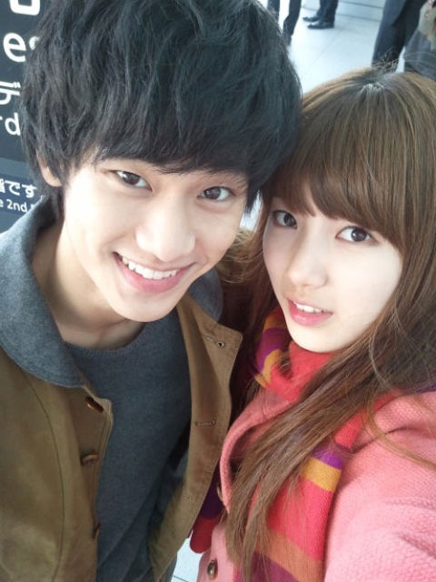 "miss A Suzy Tweets  ""Samdong Left Hyemi…"" and Cheers for ""Dream High 2"""