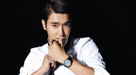 Siwon Models for Armani Watches