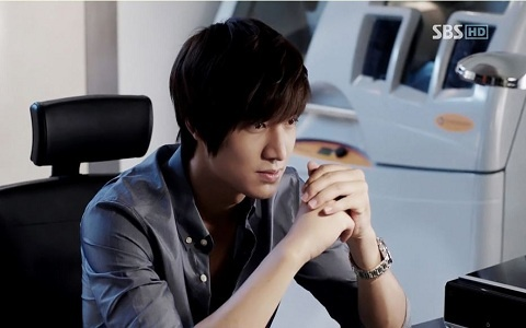 """Lee Min Ho's Five Stages of Anger in """"City Hunter"""""""