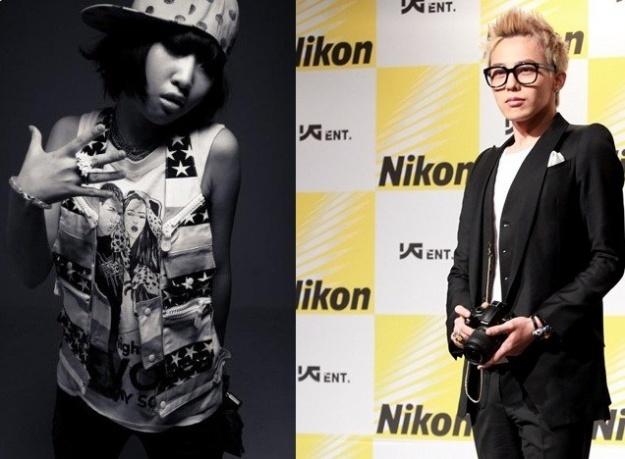BIGBANG's G-Dragon and 2NE1's Minzy Celebrate White Day