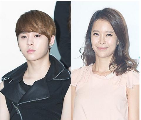 Goo Hara's BF Yong Joon Hyung to Kiss Baek Ji Young Onstage?
