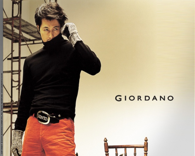 Jun Ji Hyun, Jang Dong Gun & Jung Woo Sung for Giordano