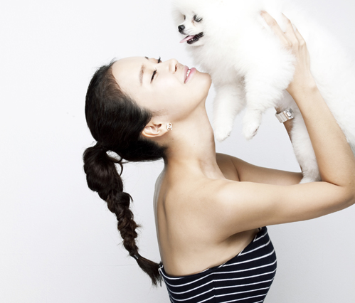 Baek Ji Young Opens Online Shopping Mall for Pet Dogs