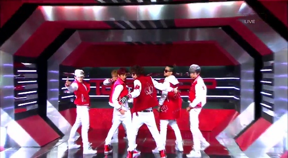 """Teen Top Performs """"Going Crazy"""" on Inkigayo"""
